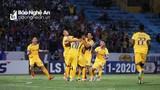 Sông Lam Nghệ An đánh bại Hà Nội, tạm dẫn đầu V.League 2020