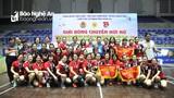 Tìm ra nhà vô địch Giải bóng chuyền hơi nữ Công đoàn Viên chức Nghệ An năm 2020