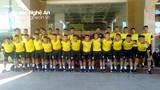 Thầy trò Phạm Văn Quyến lên đường tham dự Giải U17 Quốc gia 2020