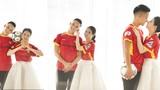 Ngắm bộ ảnh cưới lãng mạn của đội trưởng SLNA và bạn gái Hà Tĩnh