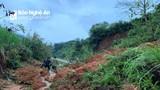 Sạt lở núi gây ách tắc giao thông tuyến đường Na Ngoi - Mường Ải