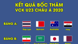 U23 Việt Nam rơi vào bảng đấu dễ thở ở VCK U23 Châu Á 2020