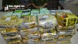 Nghệ An: Triệt phá đường dây ma túy 'khủng' thu 40kg ma túy, 20 bánh heroin