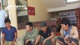 Bắt giữ 4 đối tượng dùng kích điện bắt cá kiểu tận diệt trên sông Lam