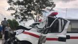 Tai nạn giữa xe 'hổ vồ' và xe cấp cứu, 3 người thương vong