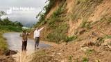 Kỳ Sơn di dời khẩn cấp 281 hộ dân do sạt lở núi