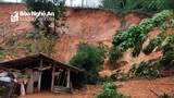 Anh Sơn, Con Cuông sạt lở núi mạnh, di dời khẩn cấp nhiều hộ dân