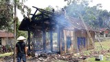 Ngôi nhà gỗ của bà lão đơn thân bị thiêu rụi sau hỏa hoạn