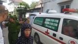 Người phụ nữ đi xe máy bị đâm gục trên đường lúc sáng sớm ở thành phố Vinh