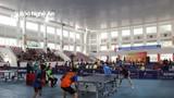 Hơn 150 VĐV tham dự Giải bóng bàn Nghệ An mở rộng