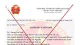 Cán bộ hưu trí ở Nghệ An mất 120 triệu đồng vì tin tờ lệnh tạm giam được gửi qua Zalo