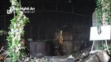 Hiện trường tan hoang sau vụ cháy tổ hợp khách sạn, bar, karaoke ở TP Vinh