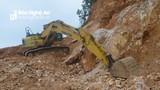 Nghệ An: Hàng trăm nghìn tấn quặng thạch anh bị 'khoáng tặc' rút ruột