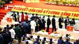Danh sách Đoàn đại biểu Nghệ An dự Đại hội đại biểu toàn quốc lần thứ XIII của Đảng