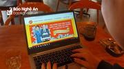 Nghệ An: Nhiều người khốn khổ vì nhận thông báo trúng thưởng sau khi mua hàng online