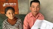 Bạn đọc báo Nghệ An hỗ trợ 25 triệu đồng cho hoàn cảnh khó khăn ở Thanh Chương