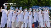 Nghệ An cử 60 y, bác sĩ vào hỗ trợ tỉnh Bình Dương chống dịch Covid-19