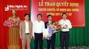 Công bố quyết định bổ nhiệm Hiệu trưởng các Trường THPT trên địa bàn TP Vinh
