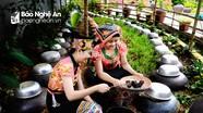 Đặc sản rượu men lá Con Cuông