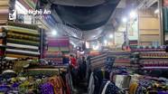 Tiểu thương lo lắng về nguy cơ cháy chợ Vinh