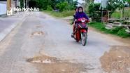 Người dân khu tái định cư Hưng Đông băn khoăn đường mới làm đã hỏng