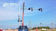 Hơn 2 tỷ đồng lắp đặt cụm đèn giao thông tại ngã tư N5 với Ql 1A