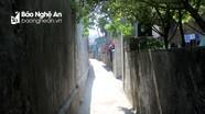 """""""Ngộp thở"""" với những đường làng ven biển ở Nghệ An"""