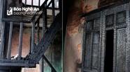Ngôi nhà tan hoang, đen nhẻm sau vụ cháy tại đường Trần Phú (TP.Vinh)