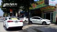 TP Vinh: Cơ sở kinh doanh xe tự lái ngang nhiên biến lòng đường, vỉa hè thành nơi đỗ xe