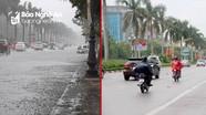 Nước rút nhanh trên các tuyến đường thành phố Vinh