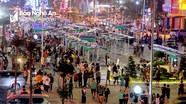 Sẽ đấu giá lại những gian hàng không đạt chuẩn tại phố đêm ở thành phố Vinh