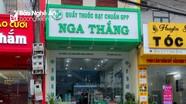 Hiệu thuốc ở Nghệ An bị xử phạt trên 30 triệu đồng vì tăng giá khẩu trang