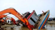 Thay đổi phương án trục vớt tàu cá chìm ở Nghệ An