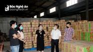Nguồn lương thực, thực phẩm của Nghệ An đáp ứng đủ cho người dân chống dịch Covid-19