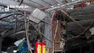 Báo động nguy cơ cháy, nổ ở các chợ ở TP Vinh mùa nắng nóng