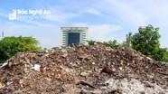 Vấn nạn rác thải xây dựng ở thành phố Vinh
