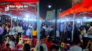 Phố đêm Cao Thắng - TP Vinh 'hút' khách khi xuất hiện nhiều sản vật đặc trưng vùng miền