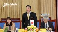JICA Việt Nam sẽ hỗ trợ tỉnh Nghệ An xây dựng các dự án quan trọng