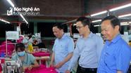 Tìm hướng tháo gỡ khó khăn cho doanh nghiệp dệt may ở Nghệ An
