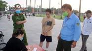 TP.Vinh xử phạt nhiều người chạy thể dục, đi bộ không đeo khẩu trang
