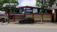 Các dịch vụ không thiết yếu ở thành phố Vinh chấp hành lệnh đóng cửa, phòng dịch
