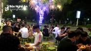 TP. Vinh: Nhiều quán cà phê, giải khát đông nghẹt người giữa mùa dịch