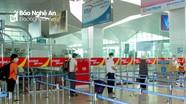 Sân bay Vinh siết chặt các biện pháp phòng dịch do liên quan đến ca nhiễm tại Hà Tĩnh