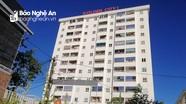 Phong tỏa chung cư Golden City 1 ở thành phố Vinh