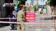 Phong tỏa hơn 100 hộ dân phường Hưng Bình liên quan đến 3 ca Covid - 19 mới