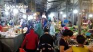 Có ca nhiễm Covid-19 đầu tiên trên địa bàn, chợ ở phường Bến Thủy (TP Vinh) đông 'đột biến'!