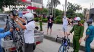 TP. Vinh tiếp tục xử phạt nghiêm các nhóm tập thể dục, hóng mát nơi công cộng