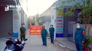 Phong tỏa nhiều hộ dân phường Quán Bàu (TP Vinh) liên quan đến ca nhiễm Covid-19