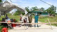 Có ca nhiễm đầu tiên, xã Hưng Chính (TP Vinh) lập chốt phong tỏa 35 hộ dân
