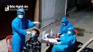 Phong tỏa 9 hộ dân phường Đông Vĩnh sau khi có ca bệnh dương tính